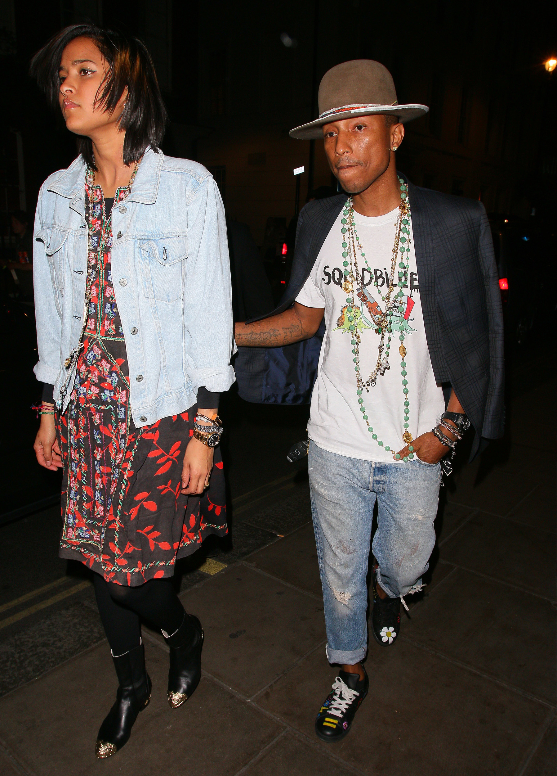 Pharrell dating helen lasichanh