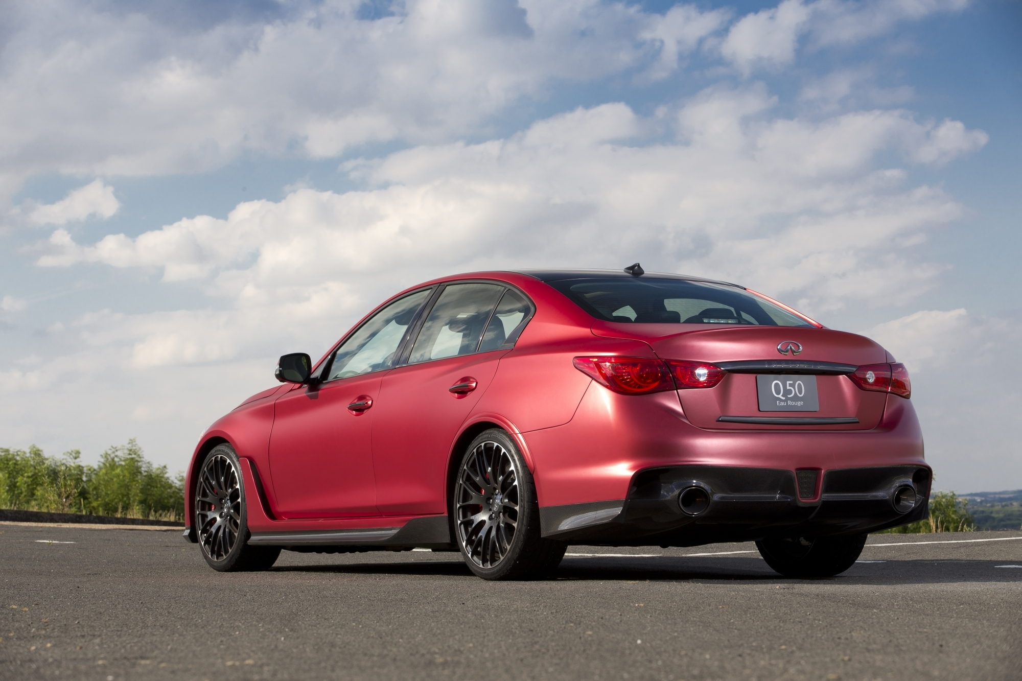 2016 Infiniti Q50 Eau Rouge Prototype First Drive [w/video