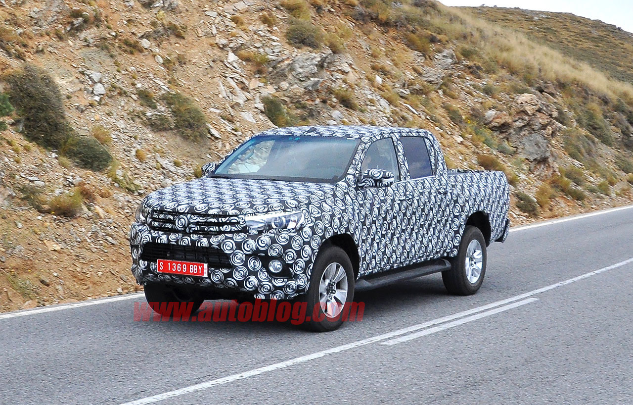 2020 Toyota Hilux Spy Shots Pricing