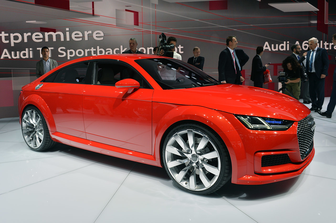 audi tt sportback concept: paris 2014 photo gallery - autoblog