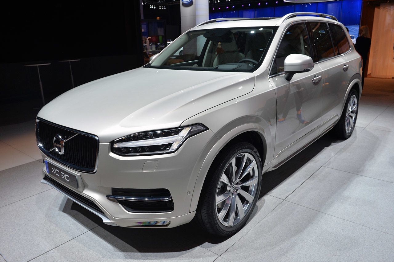 Volvo Certified Pre Owned >> 2015 Volvo XC90: Paris 2014 Photo Gallery - Autoblog