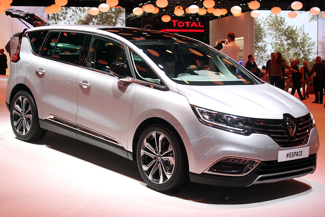 renault espace paris 2014 photo gallery autoblog. Black Bedroom Furniture Sets. Home Design Ideas