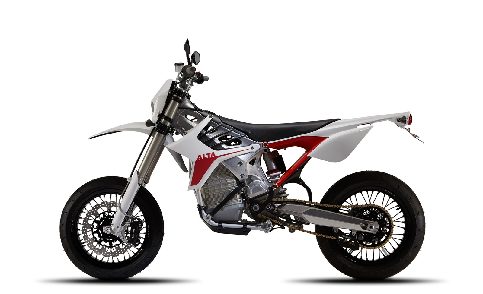 Alta Motors ships first Redshift electric motorcycle