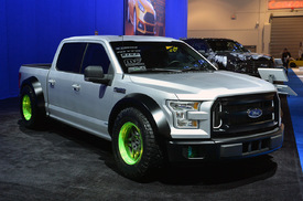 Plethora of 2015 Ford F-150 customs runs the gamut at SEMA ...