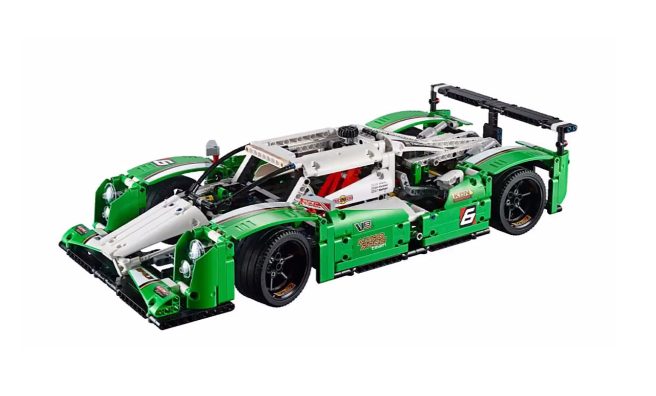 lego technic 24 hours race car kit photo gallery autoblog. Black Bedroom Furniture Sets. Home Design Ideas