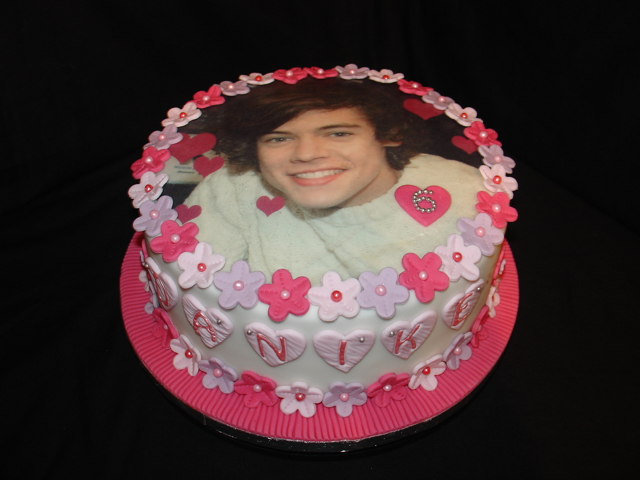 Cakes For Girls 13th Birthday One Direction | www.imgkid ...