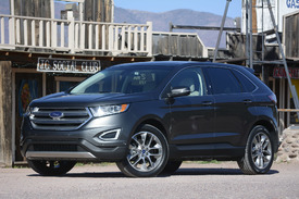 2015 ford edge first drive w videos autoblog. Black Bedroom Furniture Sets. Home Design Ideas