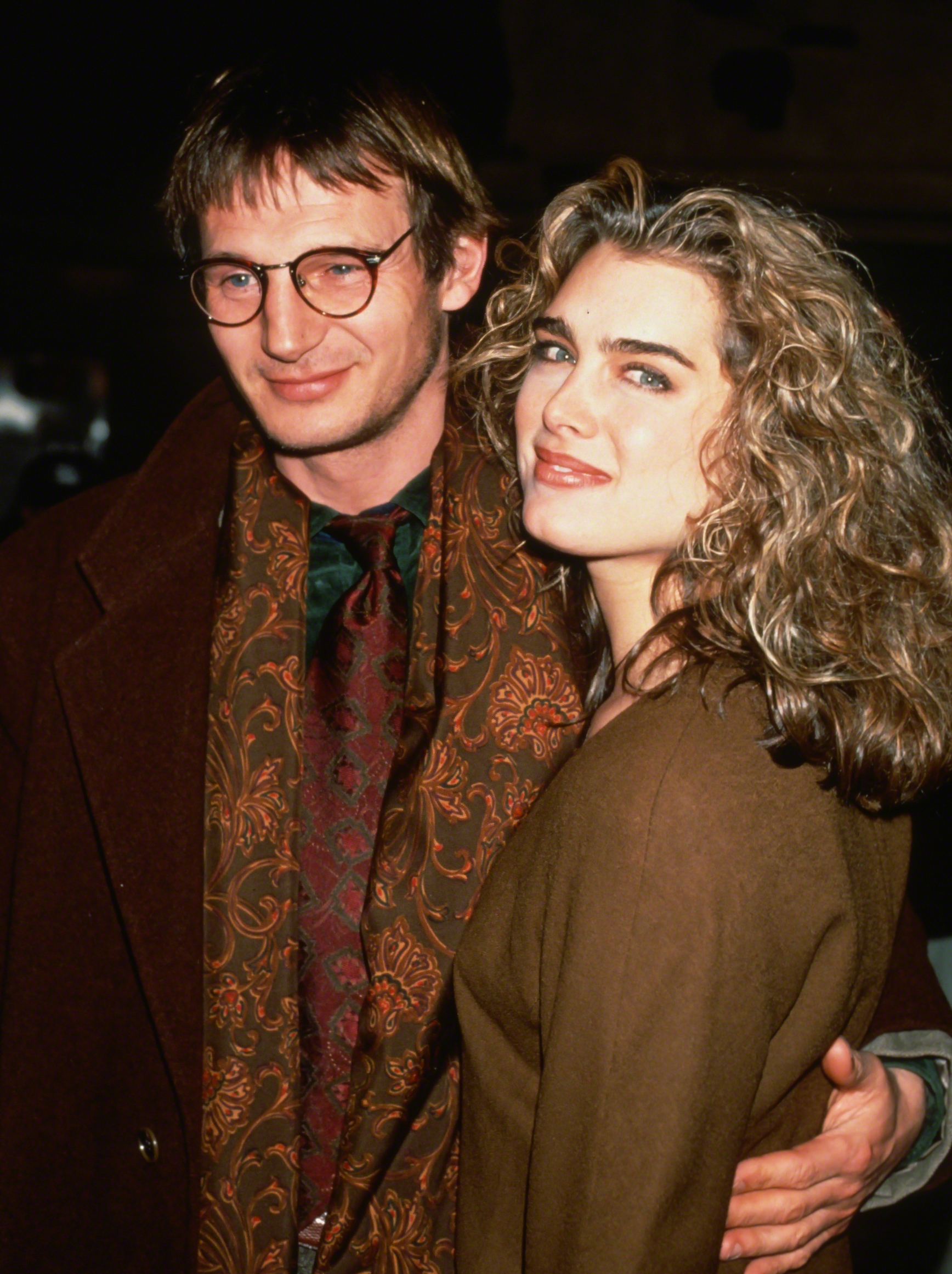 Liam Neeson And Olivia Wilde Are Paul Haggis Third Person: Liam Neeson Won't Deny He Was A Jerk To Brooke Shields