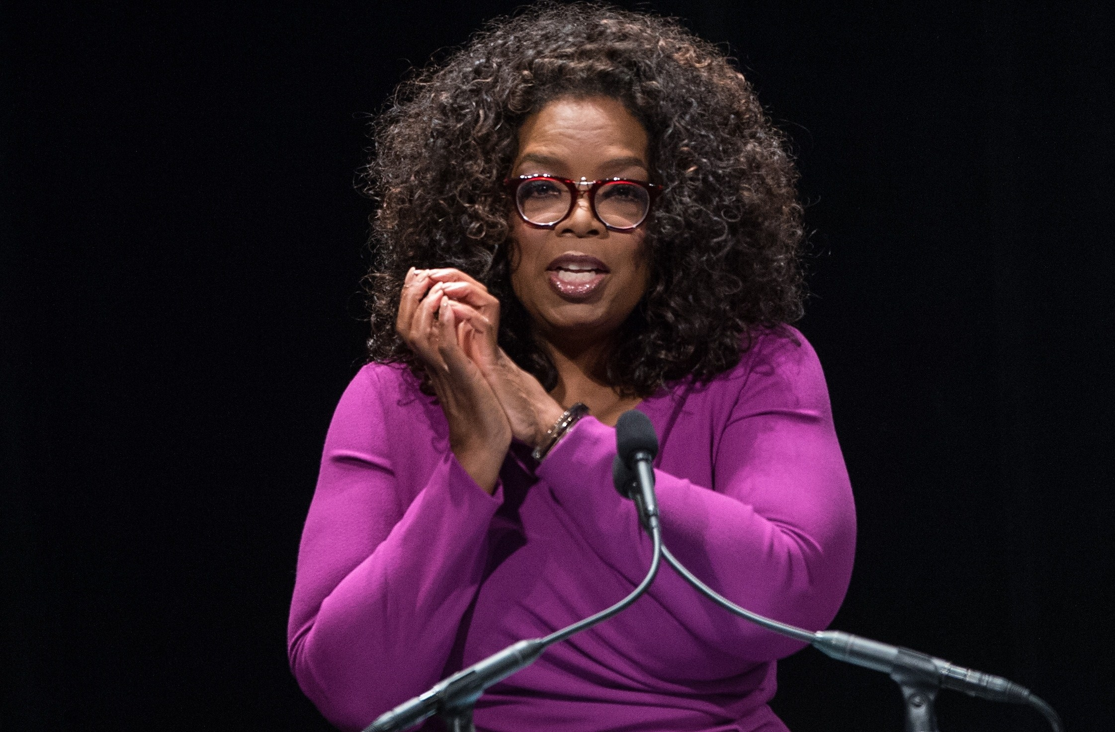 what is usually oprah beginning name
