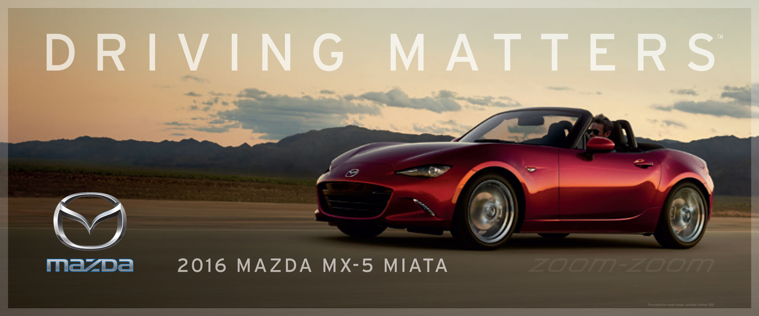Kia Certified Pre-Owned >> Goodbye Zoom-Zoom, Driving Matters is Mazda's new slogan ...