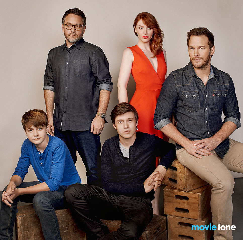 jurassic world cast