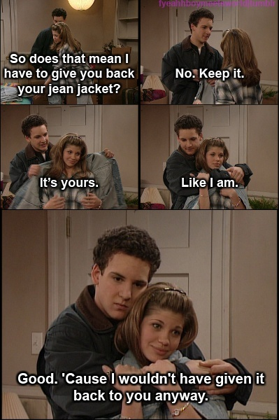 cory and topanga relationship goals funny