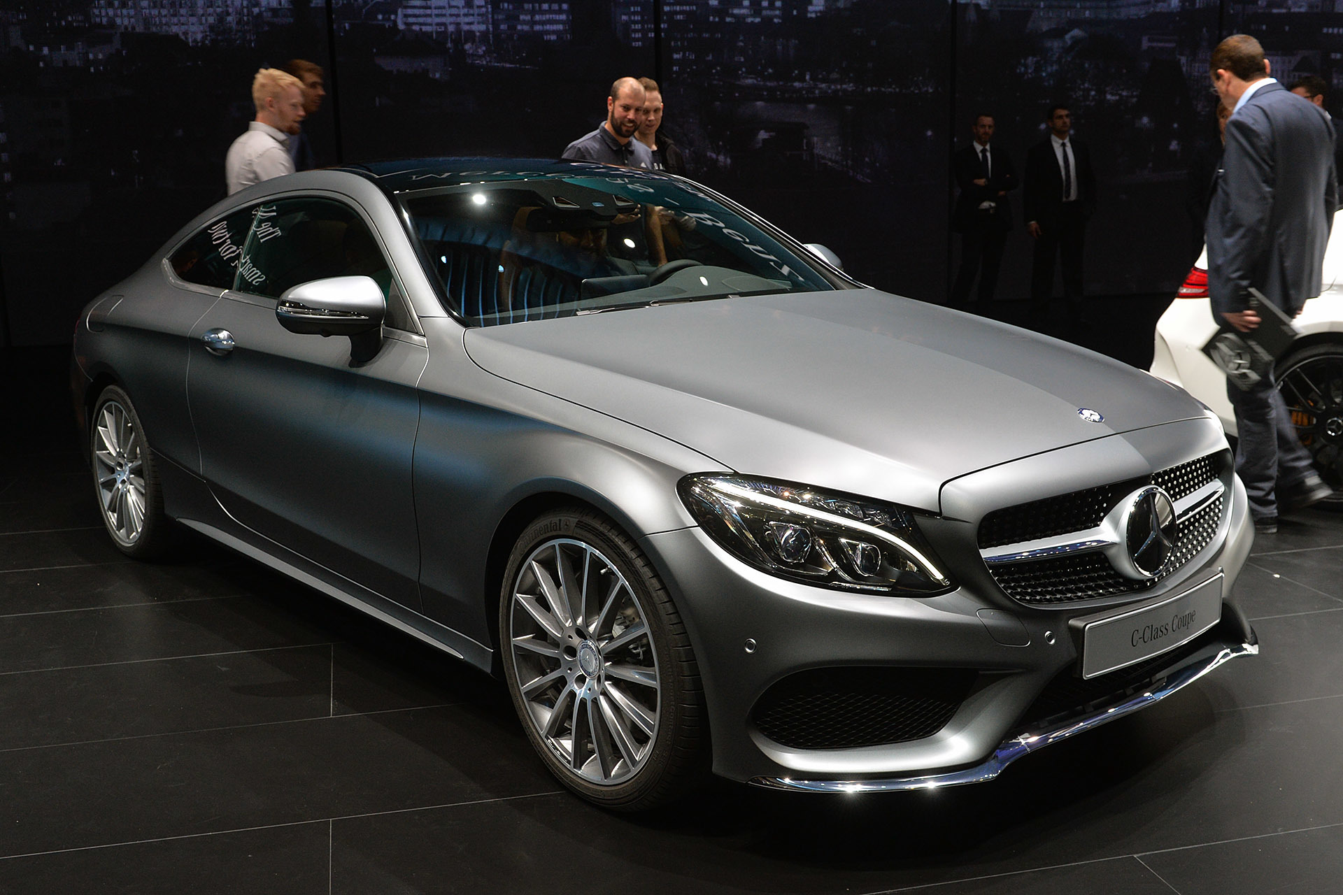 2016 Mercedes Benz C Cl Coupe Frankfurt 2017 Photo Gallery Autoblog