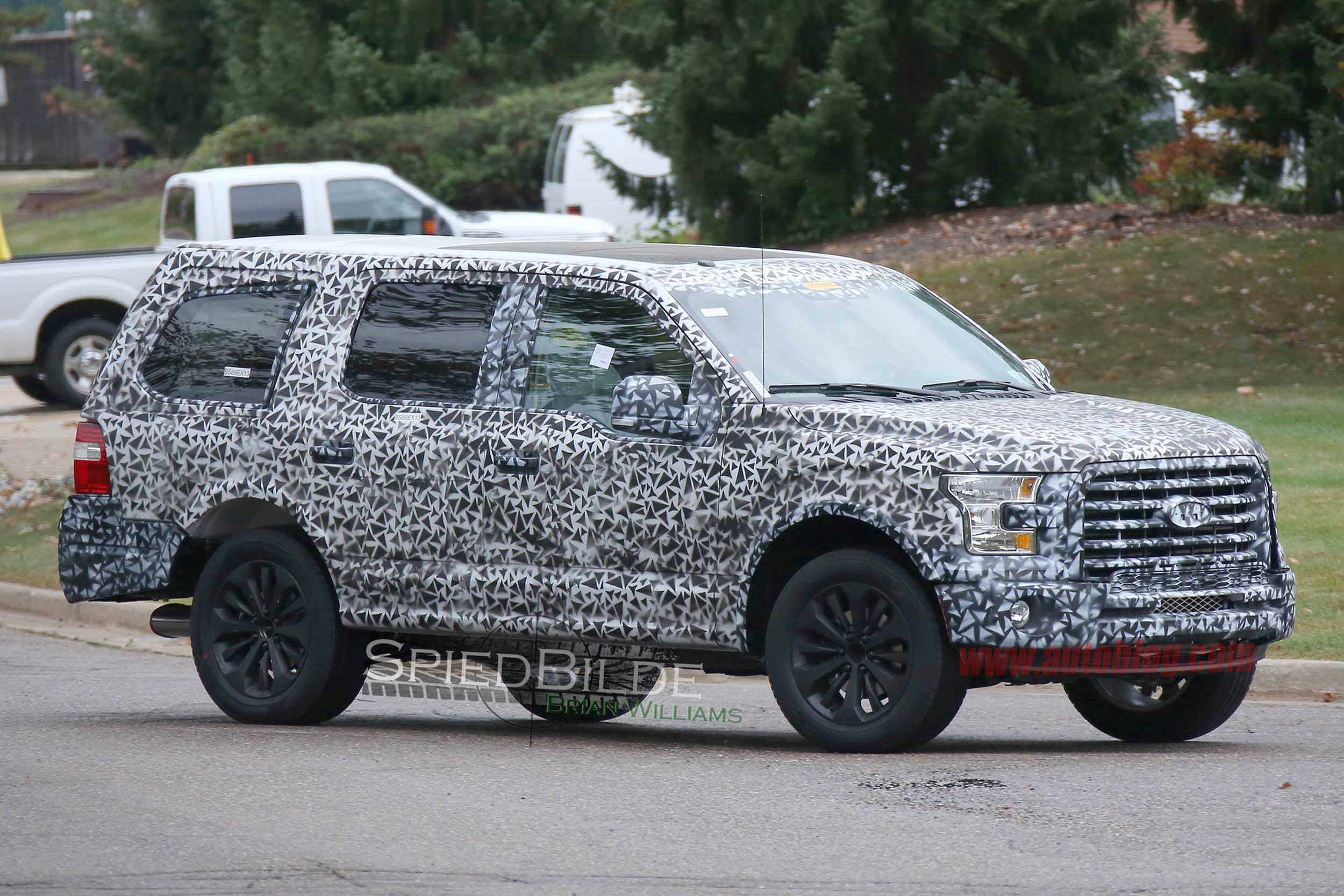 2018 Ford Expedition Spy Shots Gallery Autoblog