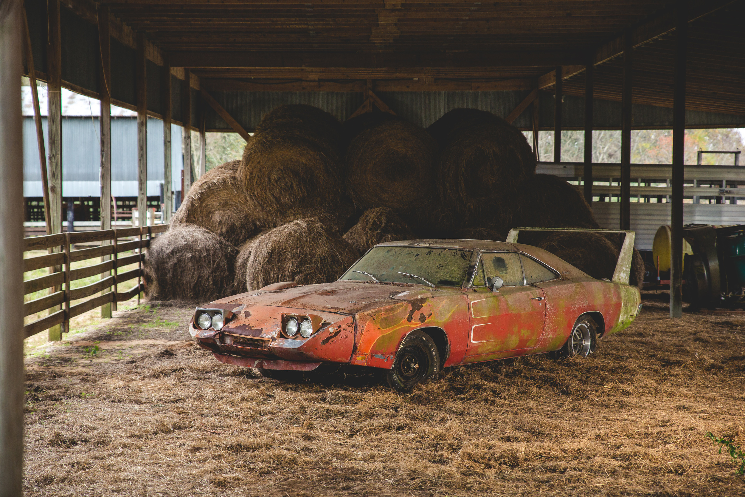 1969 Dodge Charger Daytona Barn Find Photo Gallery Autoblog