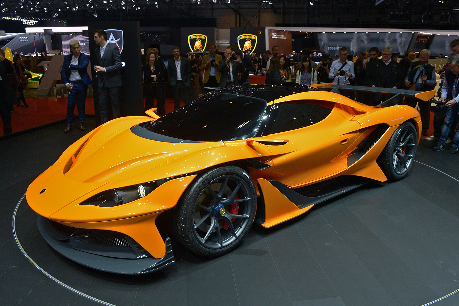 Gumpert Apollo Arrow 2016 - Dark-Cars Wallpapers