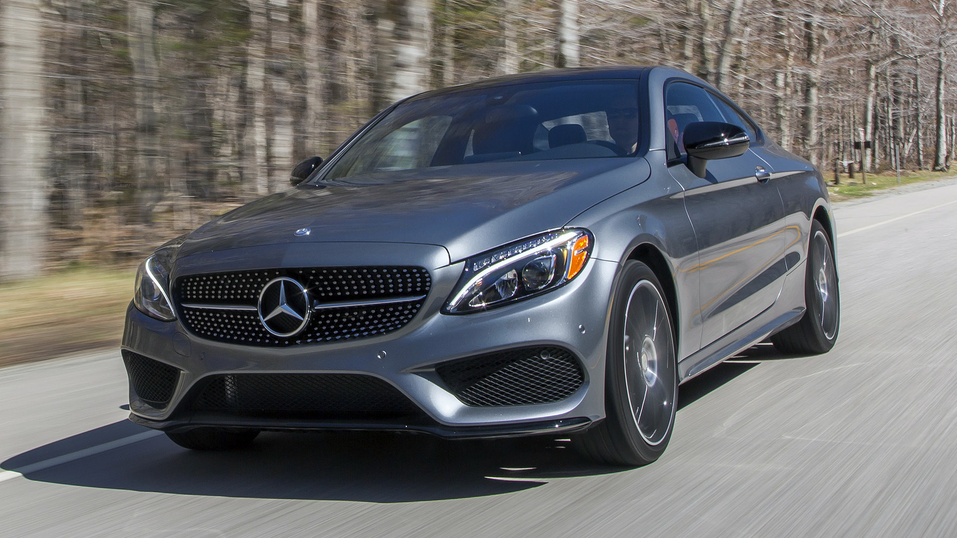 2017 Mercedes Benz C300 Coupe First