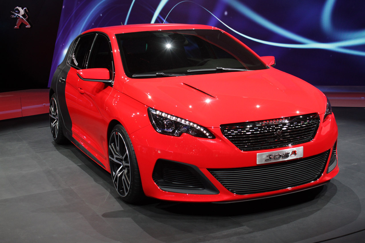 Peugeot 308 R Concept: Frankfurt 2013 Photo Gallery