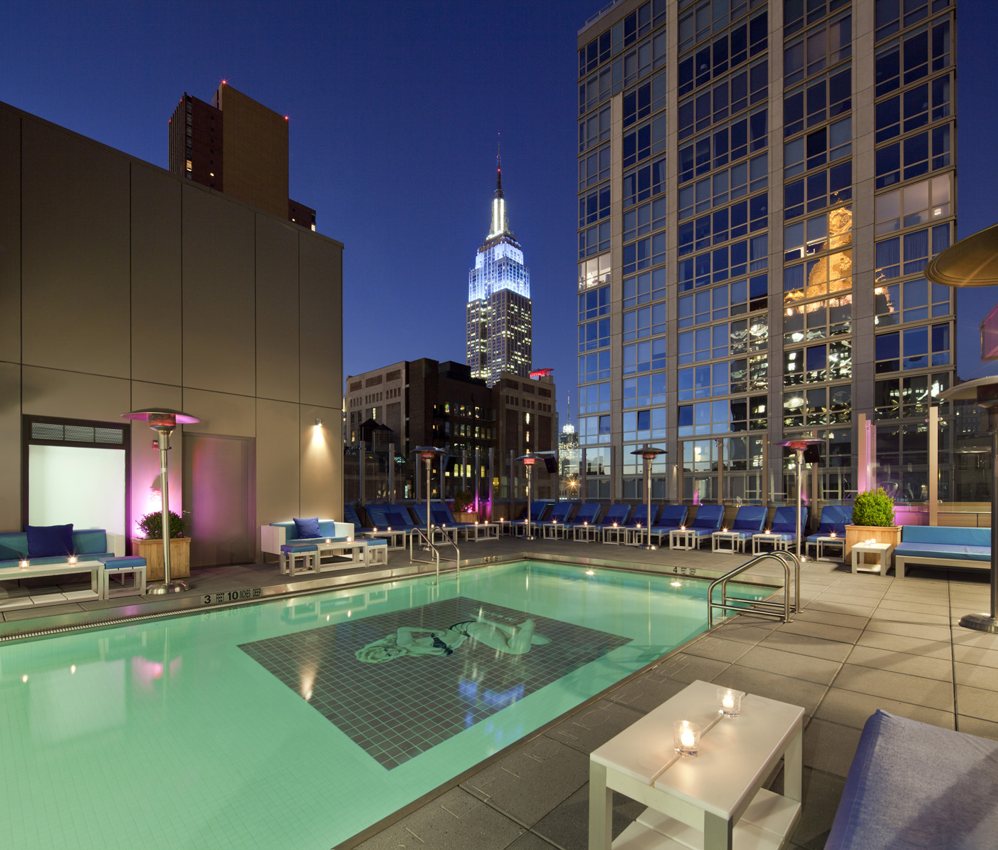 Rooftop At Gansevoort Hotel Park Ave