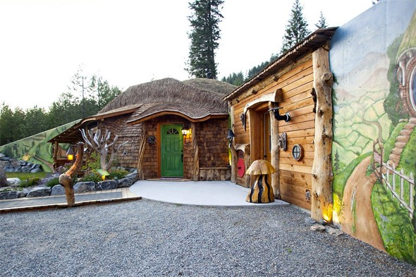 Holiday homes for The Hobbit fans to rent - AOL Travel UK - Hobbit Houses Inspired