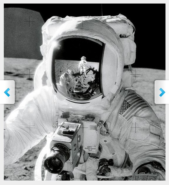 Actual Astronauts On Moon - Pics about space