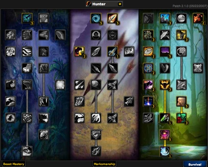 Hunter talent builds for the burning crusade expanison | about.