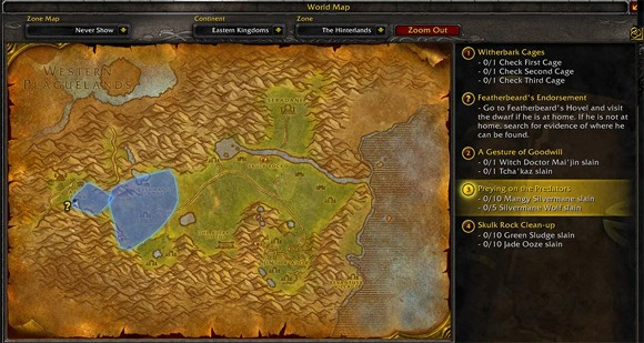 Wow Rookie Questing 101