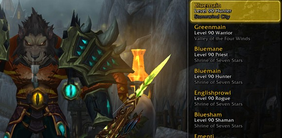 player packs entire wow account with level 85 characters rh engadget com Best WoW Leveling Guide Best WoW Leveling Guide
