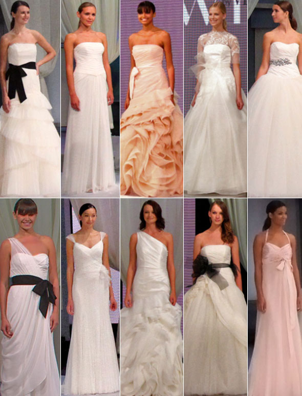 9abe60314195 Vanessa Robert Weddings: Spring 2011 Vera Wang White Classic Wedding ...