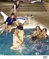Wife swapping pool party