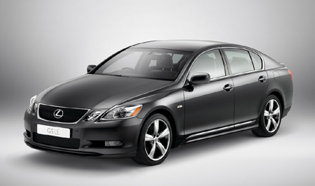 lexus launches gs 300 limited edition in london autoblog. Black Bedroom Furniture Sets. Home Design Ideas