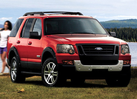 2007 Ford Explorer Ironman