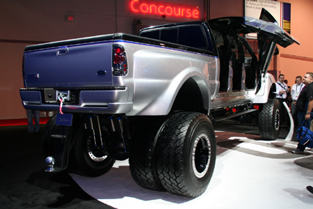 SEMA: DeBerti does an F-650 that's just not right | Autoblog