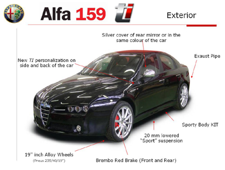 sharp gets sharper alfa 159 ti autoblog. Black Bedroom Furniture Sets. Home Design Ideas