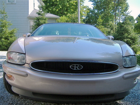 rr of the day 1995 buick riviera autoblog autoblog
