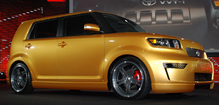 Click Above Image To View High Resolution Images Of The Redesigned Scion Xb