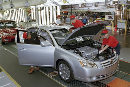 uaw says union fever rising at toyota 39 s kentucky plant. Black Bedroom Furniture Sets. Home Design Ideas