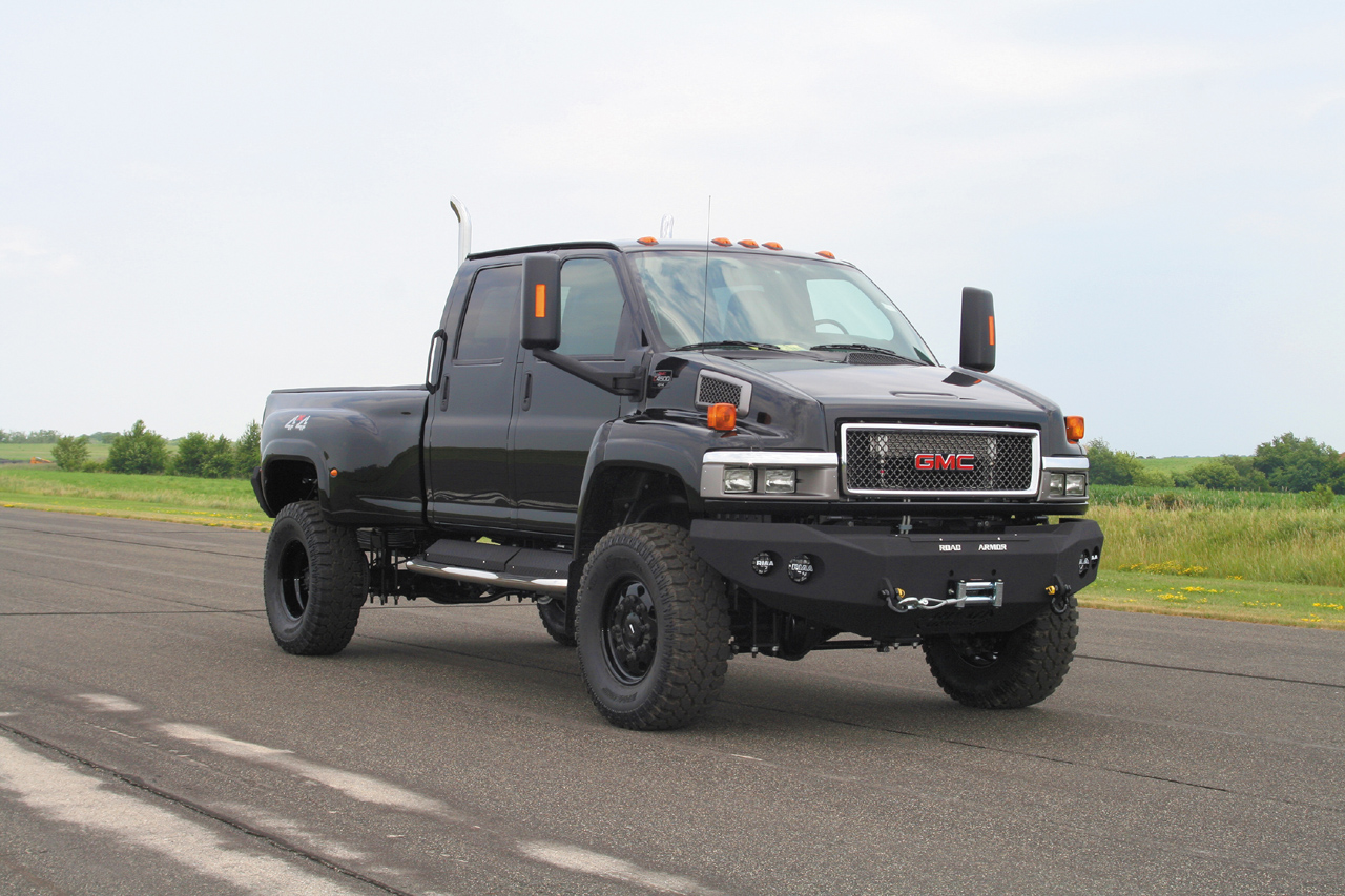 All Chevy chevy c5500 specs : Ironhide Edition GMC TopKick 6500 Pickup by Monroe Truck Photo ...