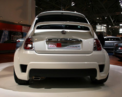 Ms Design S Fiat 500 Cup Looks Ready To Rally Through The Alps