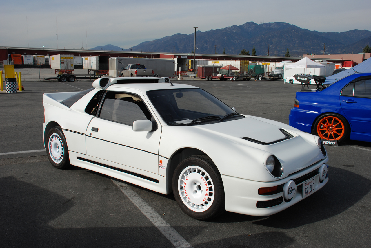 ford rs200 replica photo gallery autoblog. Black Bedroom Furniture Sets. Home Design Ideas