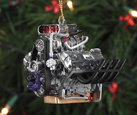 Fuel for the Fir: Hot Rod Ornaments