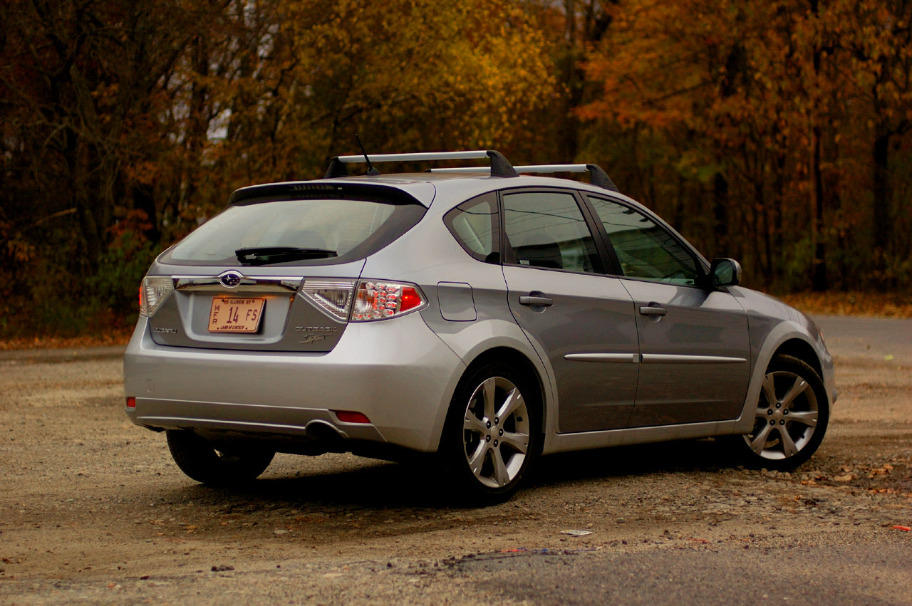 Review 2008 Subaru Impreza Outback Sport Photo Gallery