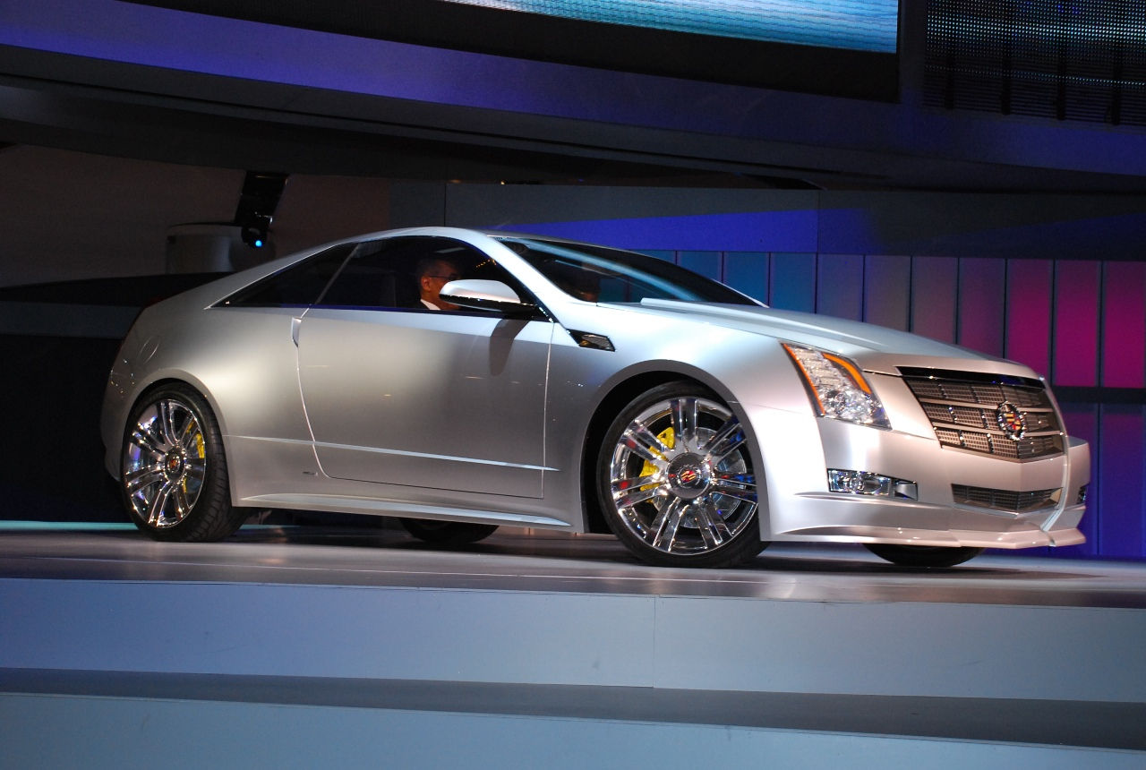 Audi Pre Owned >> Detroit 2008: Cadillac CTS Coupe Concept - Live Reveal ...
