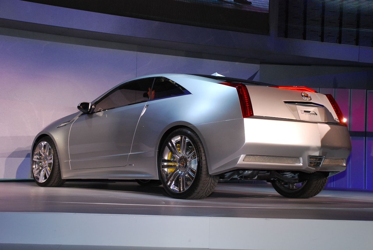 Honda Certified Pre-Owned >> Detroit 2008: Cadillac CTS Coupe Concept - Live Reveal ...