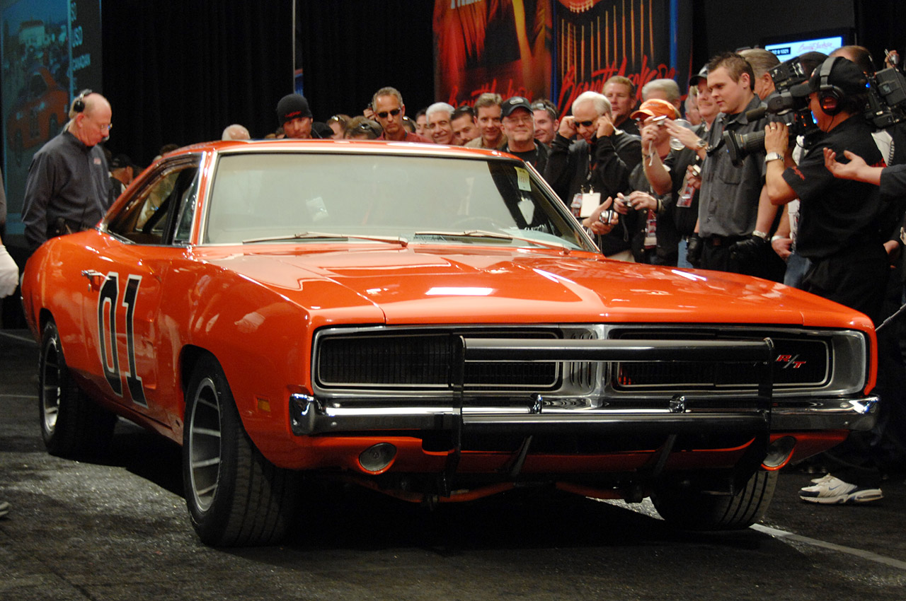 Barrett Jackson 2008 General Lee Dodge Charger Photo Gallery Autoblog 1968