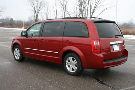 Review 2008 Dodge Grand Caravan Sxt Autoblog