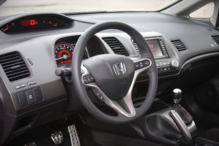 Your Opinion About The Civic S Interior Is Strictly A Matter Of Taste You Either Like Battlestar Galactica Or Don T Idea Behind Two Tiered