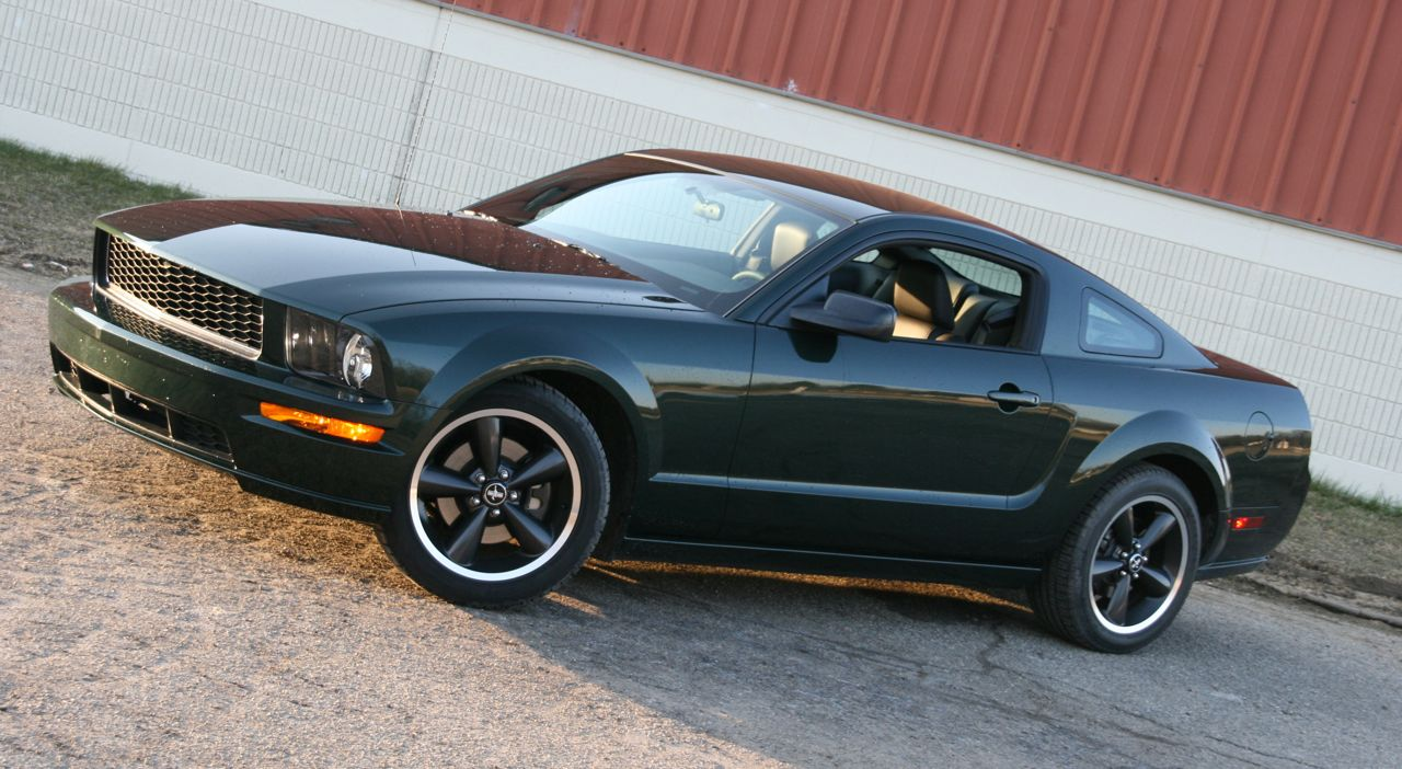autoblog garage 2008 ford mustang bullitt photo gallery. Black Bedroom Furniture Sets. Home Design Ideas