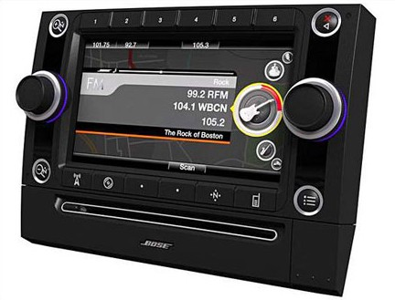 bose offering full function head unit with simple style. Black Bedroom Furniture Sets. Home Design Ideas