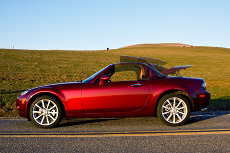 The Original Soft Top Is Still There Of Course But Mazda Added Option A Retractable Hard